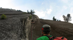 Rock Climbing Photo: Giving you a better idea of what the route is like...