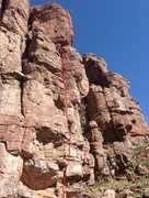 Rock Climbing Photo: View of Django from the north. Note that this is c...