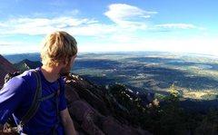 Rock Climbing Photo: Flatirons