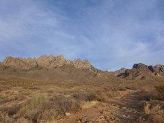 Rock Climbing Photo: Modoc Mine road