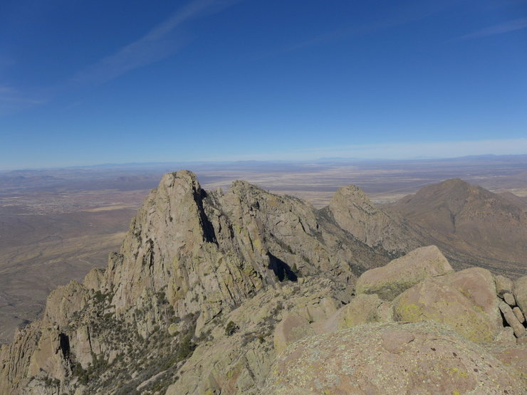 view from Squaretop summit