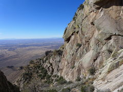 Rock Climbing Photo: view into the valley