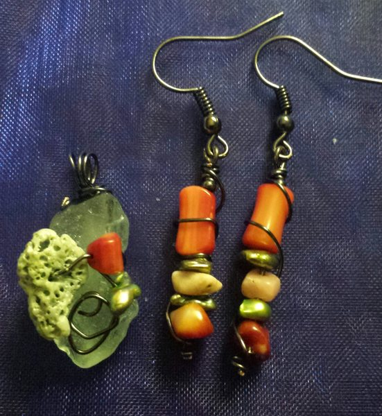 Custom jewelry.
