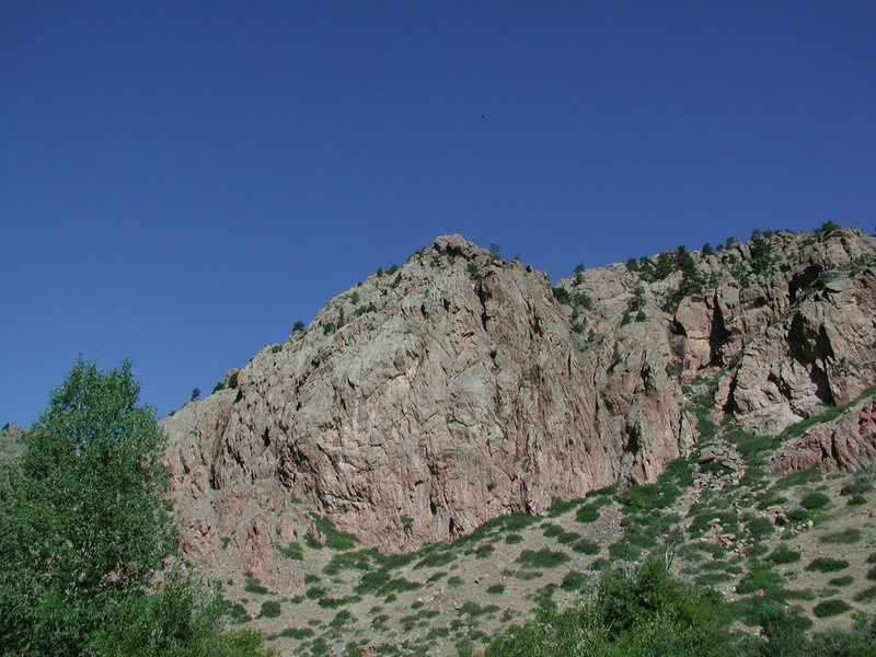 Rock Climbing Photo: East end of the Gray Dome of Lower Duck Creek.