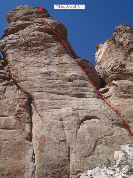 Rock Climbing Photo: Viking Soared (March 2014)
