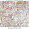 Map 1:  Halleck Canyon County Road and Flying V Ranch.