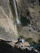 Rock Climbing Photo: Incredible postion!