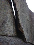 Rock Climbing Photo: The entrance to Caver's.