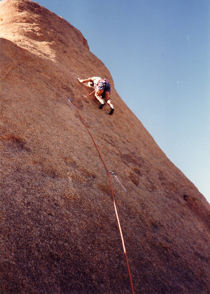 Rock Climbing Photo: Stoner on Screen Test