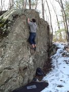 Rock Climbing Photo: Was a fun easy send to warm up on before heading f...