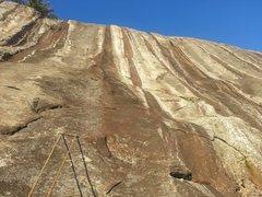 Rock Climbing Photo: the groove