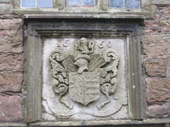 Rock Climbing Photo: Close up of Crest showing date 1660