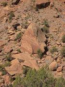 Rock Climbing Photo: Hamm Boulder.