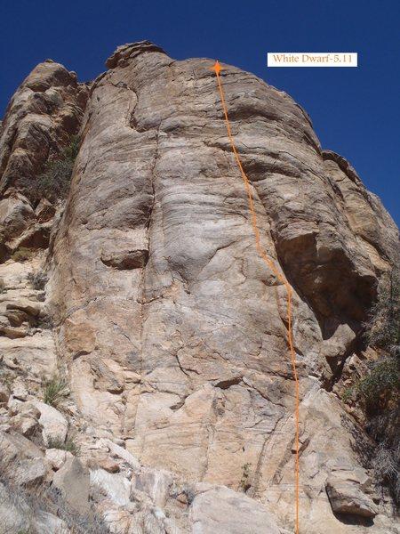 Rock Climbing Photo: White Dwarf (March 2014)