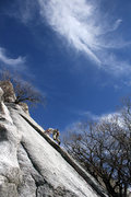 Rock Climbing Photo: Late Winter in LCC is the time for friction.
