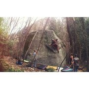 Rock Climbing Photo: finding some great friction early spring