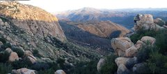 Rock Climbing Photo: Pano of Fly Dog, The Wedge and El Cap Reservoir!