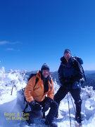 Rock Climbing Photo: Summit of Mt Marshall