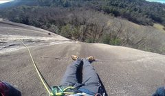 Rock Climbing Photo: Tasty ledge