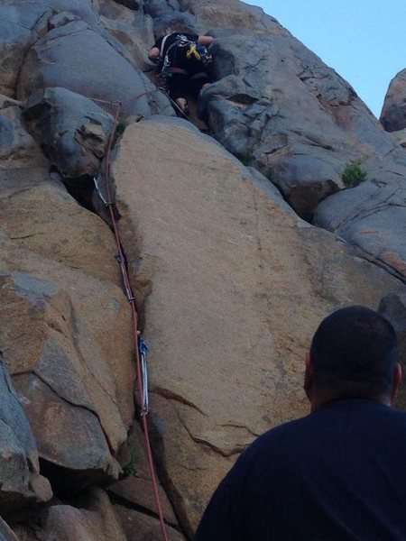 Trad Climb