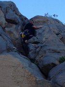 Rock Climbing Photo: Trad Climb