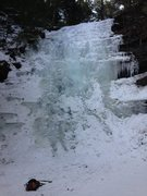 Rock Climbing Photo: Rynex Falls mid to late season.