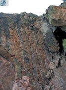 Rock Climbing Photo: Below the line.