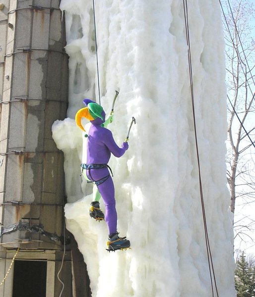 court jester climbing in 50 temps