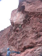 Rock Climbing Photo: Zach Keesley again accepts a TR but expects little...