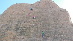 "Rock Climbing Photo: Having a good day on ""Hob Knob 'in."""