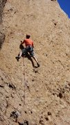 "Rock Climbing Photo: Enjoying the sweet pockets of ""Sophie's Choic..."