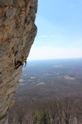 Rock Climbing Photo: Seth Tart on Emla