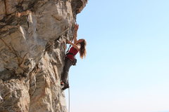 Rock Climbing Photo: Joy Cox on Deceivious