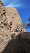 """Rock Climbing Photo: Having a great day in the """"First Corridor.&qu..."""