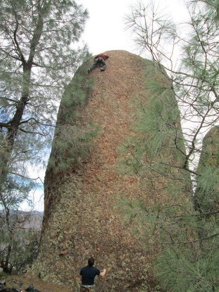Jim near the top