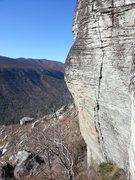Rock Climbing Photo: Fantastic crack and jug climbing!