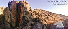 Rock Climbing Photo: Such a cool little spot.   1. Thin Face .11c/d  2....