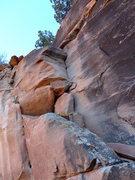 "Rock Climbing Photo: the ""pitch"" 2 hand crack"