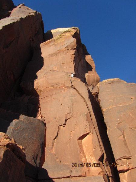 the whole climb