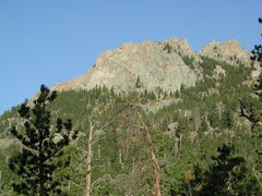 Rock Climbing Photo: the east face of the largest fin on east slope of ...