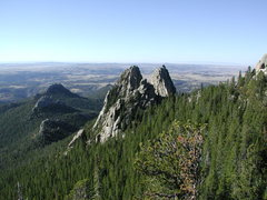 Rock Climbing Photo: A view from the summit of South Mountain looking o...