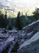 Rock Climbing Photo: The pinnacle from the South Mountain Summit.