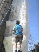 Rock Climbing Photo: on ice Monday