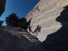 Rock Climbing Photo: Light on the Wall