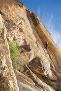 Rock Climbing Photo: cool line