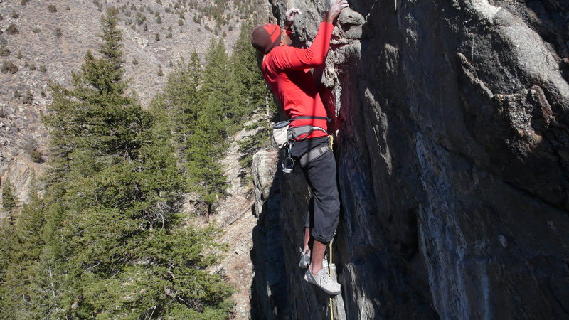 Rock Climbing Photo: Srin