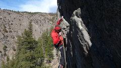 Rock Climbing Photo: Srin 2