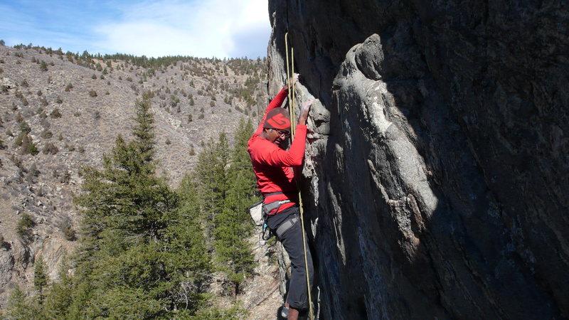 Rock Climbing Photo: Srin 3