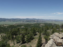 Rock Climbing Photo: School Section Mountain in North Downey Park as se...