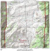 Rock Climbing Photo: Map for finding Corduroy Rock